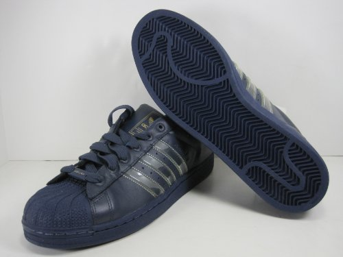 Adidas Originali Mens Superstar Ii Scarpa Pool / Navy / Navy