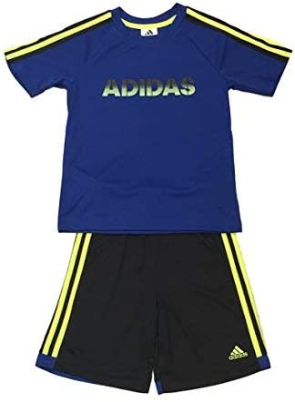 adidas Boys 2 Piece T-Shirt Tee \u0026