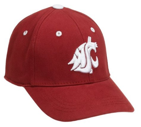 big sale 86306 6cfa3 Amazon.com   Washington State Cougars Child One-Fit Hat   Headwear    Clothing