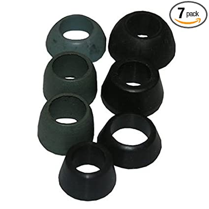 LASCO 02-2231 Rubber Assorted Cone Washers, 7-Pack - Faucet Washers ...