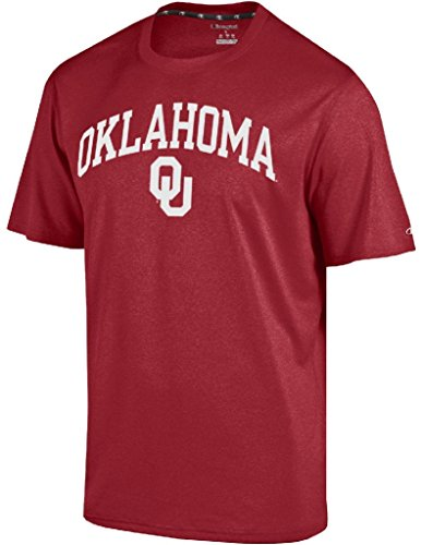 - Gear for Sports Oklahoma Sooners Crimson Epic Synthetic Short Sleeve T Shirt (Large)