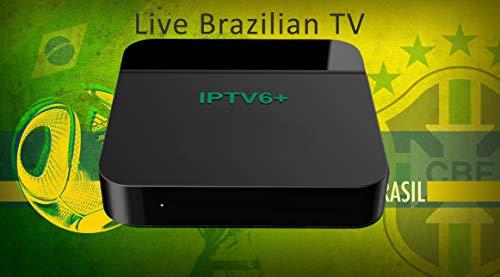 2019 Newest Official Htv Box Brazilian IPTV6 Plus + Based on HTV6+, IPTV5  HTV5 HTV 5 Updated,ao vivo Brasil tv,Filmes Brazilian Channels, Movies,