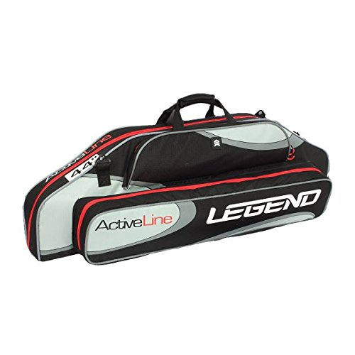 The Legend ActiveLine 44–Arrow For Compound Bow, Shock Absorbing Interior Padded Ballistic Nylon Cover Storage Pockets For Legend Archery