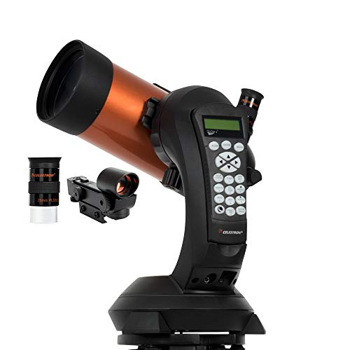 🥇 Celestron – NexStar 4SE Telescope – Computerized Telescope for Beginners and Advanced Users – Fully-Automated GoTo Mount – SkyAlign Technology – 40