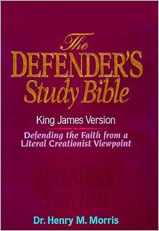 KJV - Defender's Study Bible by Dr  Henry Morris, Ph D : Henry M