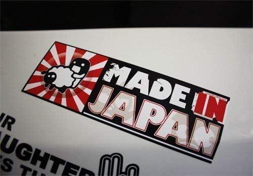 Made In Japan Sticker Rising Sun Sticker Decal Jdm Dub Dubway Tuning Auto