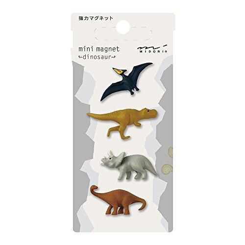 Midori Mini Magnet, Dinosaur (49760006)