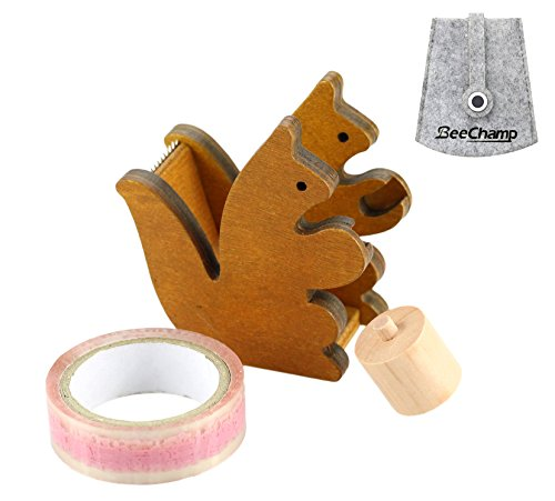 BeeChamp Handmade Squirrel Desktop Dispenser product image