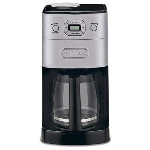 (Cuisinart DGB-625BCFR Grind & Brew 12 Cup Automatic Coffeemaker (Renewed), Black)
