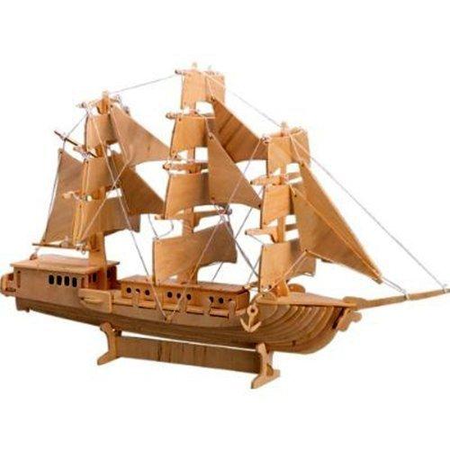 【2018最新作】 3 - D木製パズル。Item – European Sail B004QDRXMK Boatモデル – Affordableギフトfor Boatモデル your Little One。Item # dchi-wpz-p049 B004QDRXMK, TOTOKU:ab1fd1f8 --- quiltersinfo.yarnslave.com
