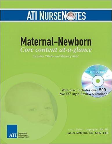 bbdb767f2ae03 ATI NurseNotes Maternal-Newborn: 9780976006343: Medicine & Health ...