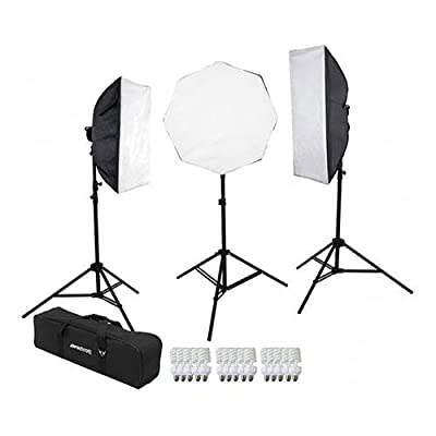 Westcott 3-Light D5 Daylight Softbox Kit with Carry Case from Westcott