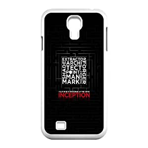 Samsung Galaxy S4 9500 Cell Phone Case White Inception Dark Poster SUX_991366