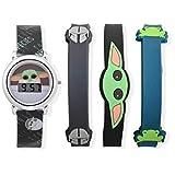 Star Wars- LCD Watch & Bracelet Set- The Mandalorian