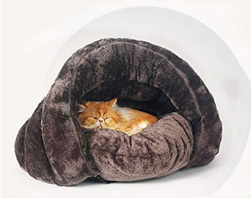 M&M Camas para Mascotas, Diseño Creativo Nido De Algodón Lavable Cama para Dormir Suave Cojín Se Adapta A Las Razas De...