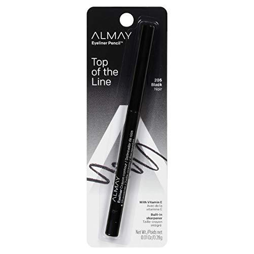 Almay Eyeliner Pencil, Black, .01 Oz