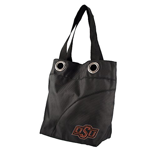 Oklahoma State Sport Noir Sheen Tote