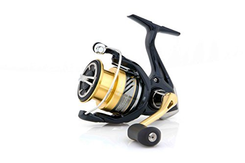 Shimano Nasci 4000 FB spinning fishing reel with front drag, ()