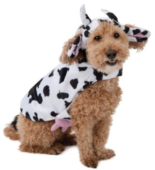 Moonlight Manor Cow Dog Costume (Dog Cow Costume)