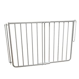 Cardinal Gates Stairway Special Gate, White