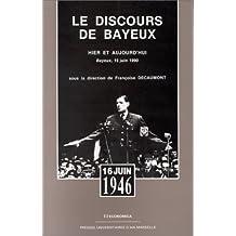 Le Discours de Bayeux