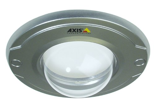 AXIS Silver Cover With Clear Transparent Bubble (DL6521-IM) Category: Camera Domes and Mounting