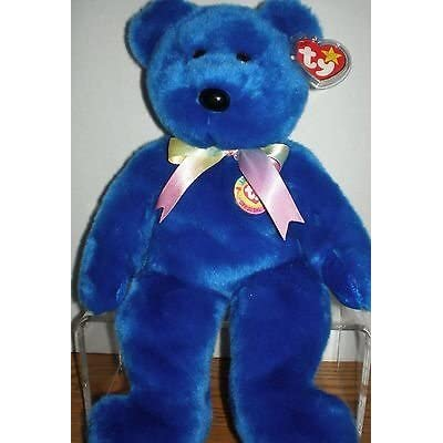 "Ty Beanie Buddies Clubby Bear 14"" Mint Retired 1999: Toys & Games"