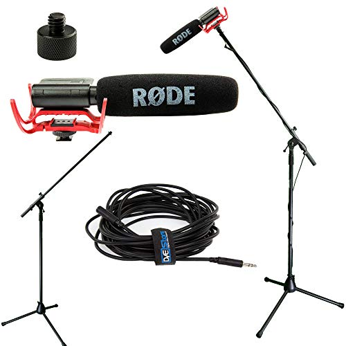 (RODE VideoMic Studio Boom Kit - VM, Boom Stand, Adapter, 25' Cable)