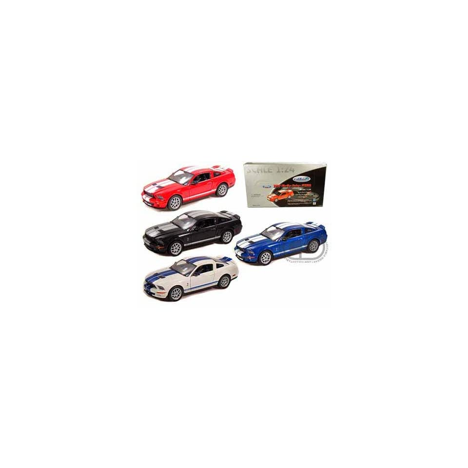 Set of 4  2007 Ford Shelby Cobra GT500 1/24