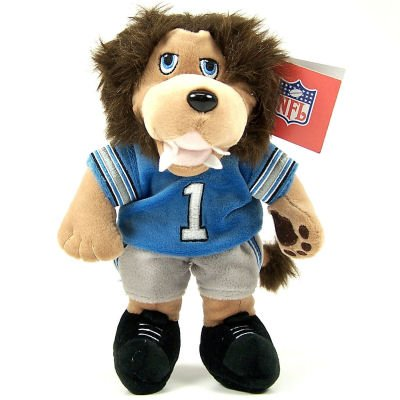 Amazon Com Detroit Lions Roary Official Mascot Plush Toy Sports