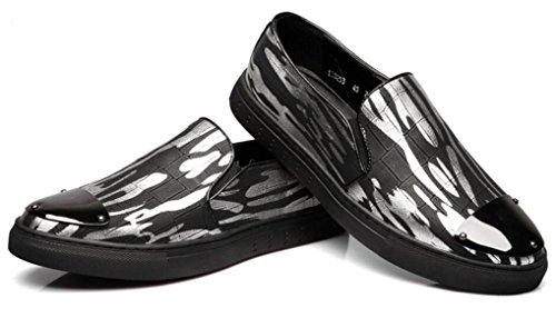 DHFUD Printemps D Impression Impression Pieds Chaussures D'Été Black TCqhQ5lmJY