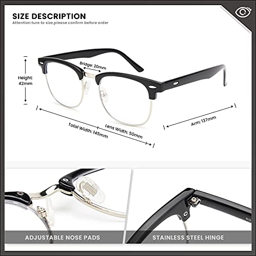 Livhò Blue Light Blocking Glasses,Phone TV Computer Gaming Glasses,Anti Ray for