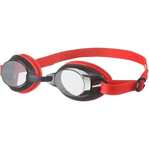 Speedo Jet Lunettes de natation Lava Red/Smoke