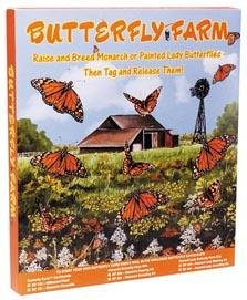 Educational Science Monarch Butterfly Growing kit with mail-in live material certificate, MGK200