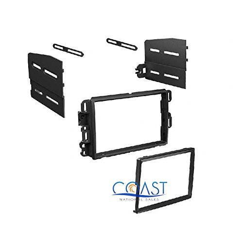 2006 2007 2008 2009 2010 2011 2012 2013 2014 Chevrolet Impala Double Din Dash Kit for Stereo Installation (Impala Dash)