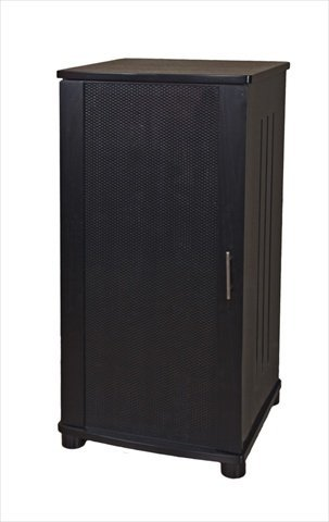 (Plateau LSX-A 52 B 52-Inch Wood Audio Stand, Tall, Black Oak Finish)
