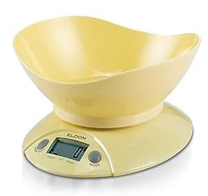 Báscula de cocina ELDOM WK290 Amarillo