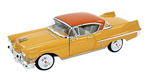 Signature Models 1957 Cadillac Series 62 Coupe de Ville , Yellow 32359 - 1/32 Scale Diecast Model Toy Car
