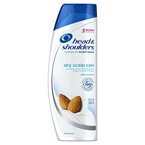 Head and Shoulders Dry Scalp Care with Almond Oil Anti-Dandruff Shampoo 13.5 Fl Oz