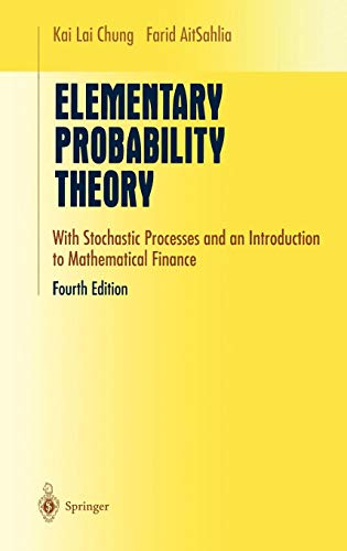 Elementary Probability Theory: With Stochastic Processes and an Introduction to Mathematical Finance (Undergraduate Text