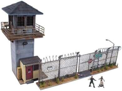 McFarlane Toys Building Sets -The Walking Dead TV Prison Tower & Gate Building Set