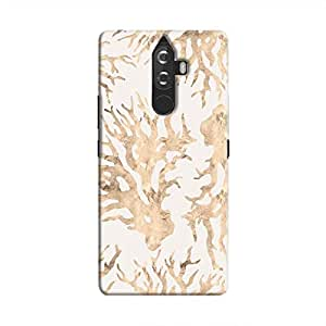 Cover It Up - Blue Pastel Nature Print K8 Note Hard Case
