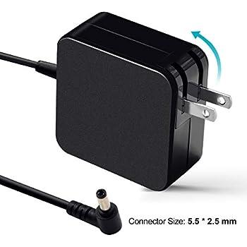 Amazon.com: EBK 19V 3.42A 65W Cargador de portátil AC ...