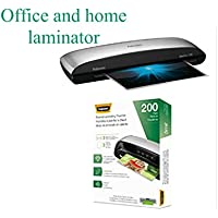 Fellowes Spectra 125 Laminator with 200 Letter-Size 5mil Laminating Pouches