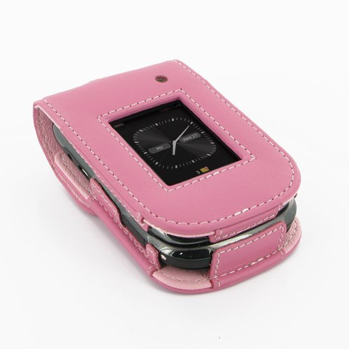 PDair S41 Petal Pink Leather Case for BlackBerry Style 9670