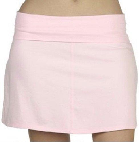 Roll Down Cotton Lycra Skirt