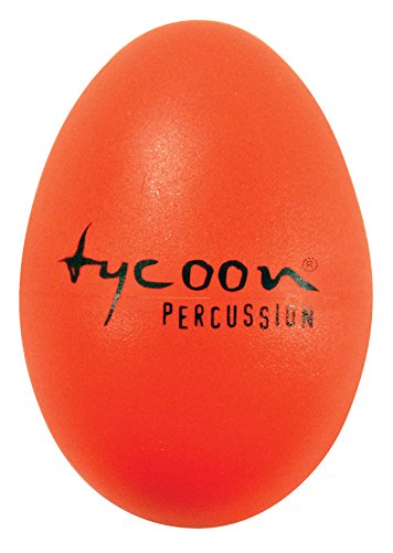 Tycoon Percussion Egg Shaker - Orange, inch (TE-O) ()