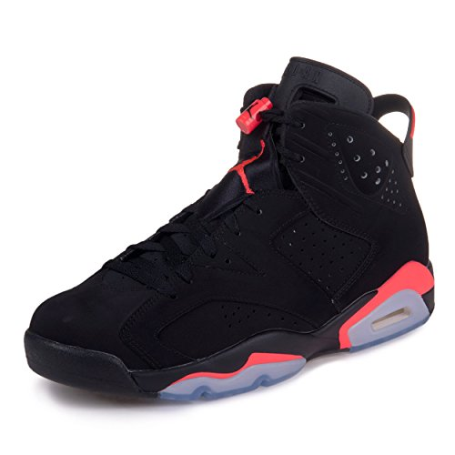 Amazon.com | Nike Mens Air Jordan 6 Retro \u0026quot;Infrared\u0026quot; Suede Basketball Shoes | Basketball