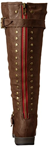 Brown Riding Mujer xwc Boot Durango Wide Extra Calf Brinley Co UanfZZ