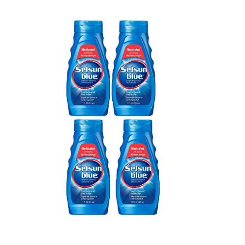 (Selsun Blue Medicated Dandruff Shampoo 11-Ounce Bottles (4 Count))
